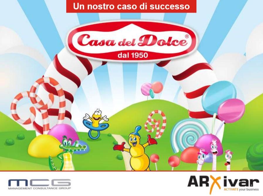Digitalizzazione dei processi commerciali per prodotti dolciari | ARXivar per Casa del Dolce