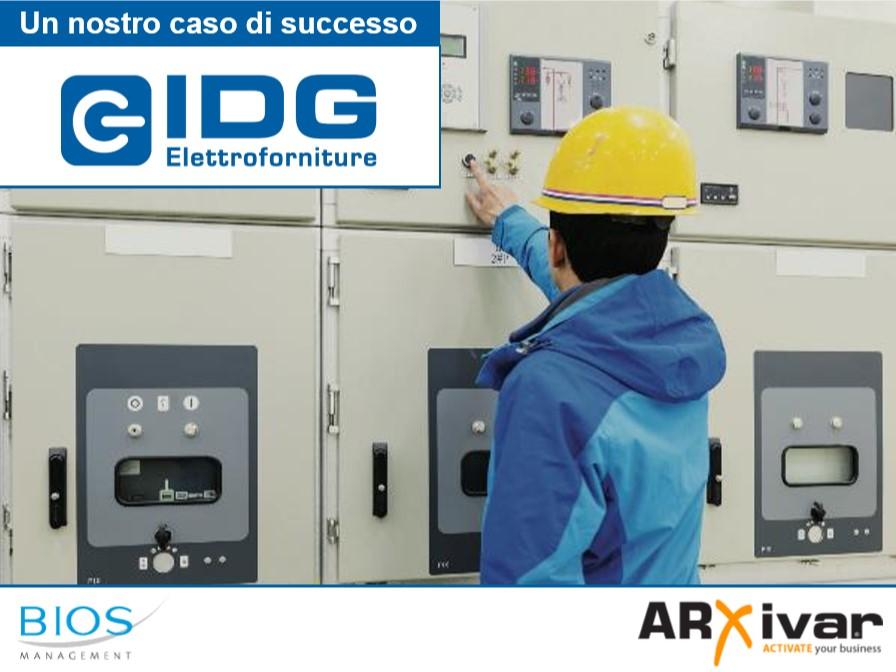 Workflow management per la produzione dei quadri cablati  ARXivar per IDG