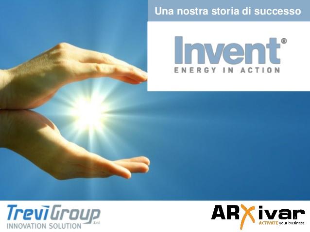 Gestione digitale documenti per sistemi energetici alternativi | ARXivar per Invent