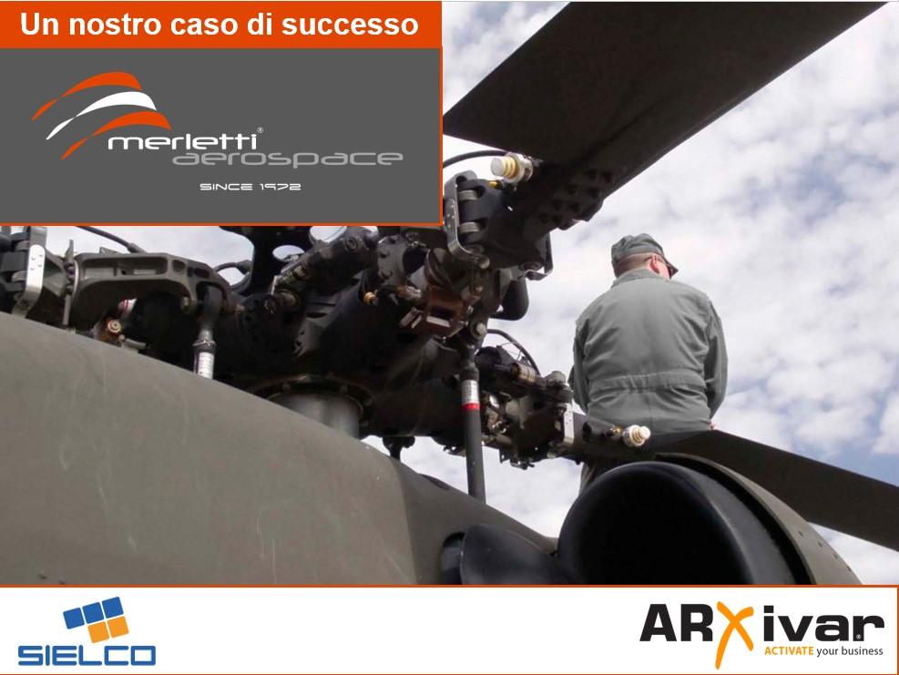 Gestione processi aziendali creazione offerte per Merletti Aerospace