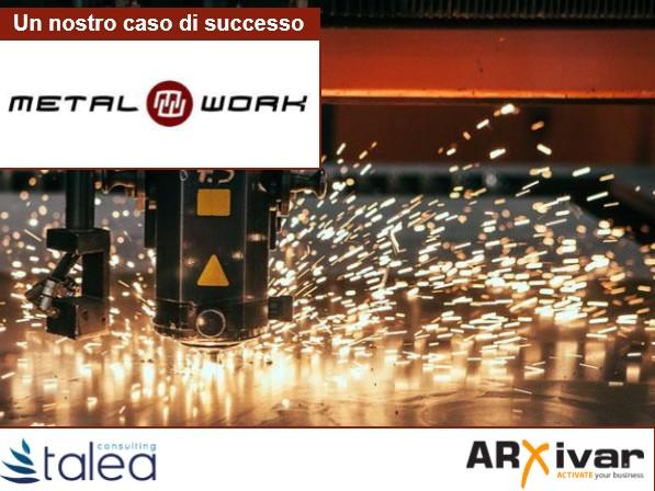 Gestione delle informazioni attraverso flussi di lavoro automatici per Metalwork