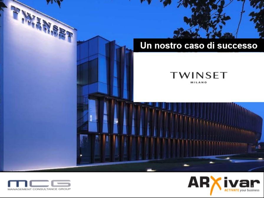 Gestione processi import ed export per il mondo del fashion | ARXivar per Twinset