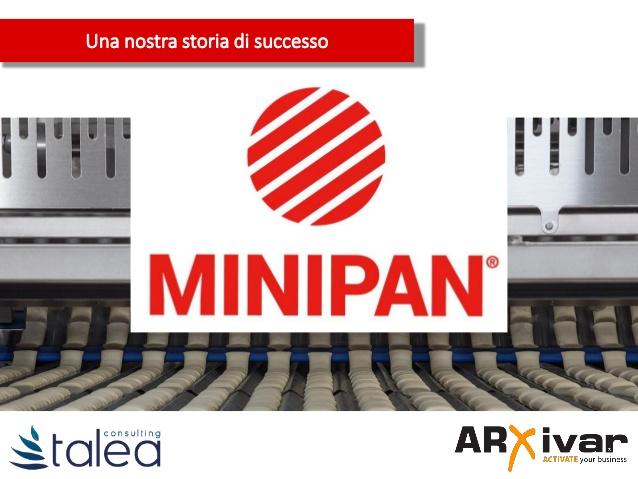 Flussi di lavoro e automazioni per l'industria dei prodotti da forno | ARXivar per Minipan