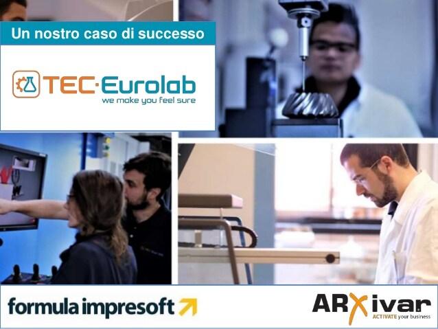 Report tecnici su piattaforma digitale per TEC Eurolab