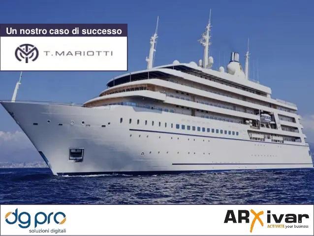 Gestione dei processi per il cantiere navale T. Mariotti