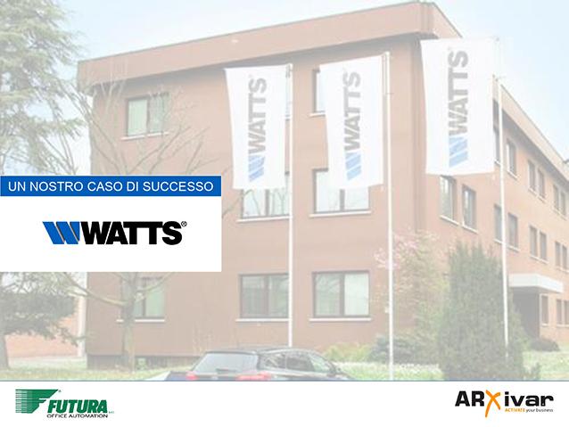 Processi automatizzati e controllati per l'acquisto di materiale idraulico per WATTS